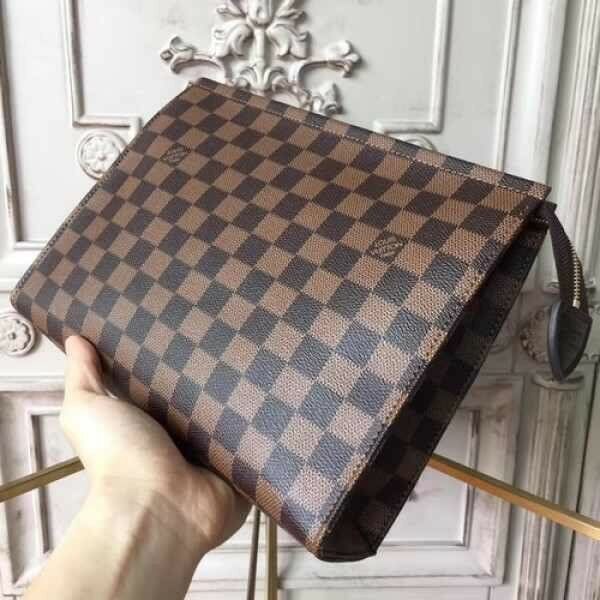 ff9119c42bfe9 Louis Vuitton Clutch Bag Toiletry Bag Cosmetic Bag Neverfull Handbag Make  Up Bag