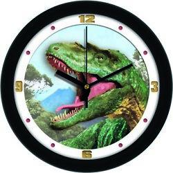 Tyrannosaurus Rex Dinosaur Series 11.5 Kids Room Wall Clock by Suntime
