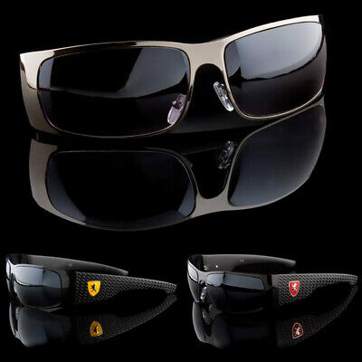 Best Mens Wraparound Stylish Racing Inspired Sunglasses - Best Man Sunglasses