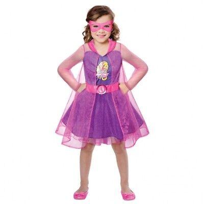 Barbie Agentin Teresa Kinderkostüm NEU - Mädchen Karneval Fasching Verkleidung K