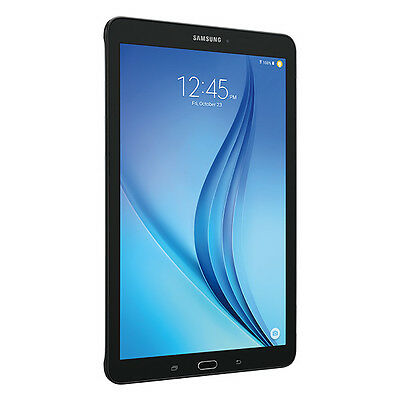 "Samsung Galaxy Tab E 9.6"" Tablet w/ 16GB, WiFi, Bluetooth - Black SM-T560NZKUXAR"