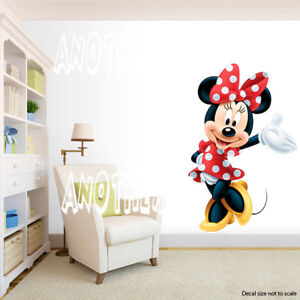 Minnie Mouse Room Decor -  Wall Decal Removable Sticker