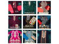 Stitched shalwar kameez