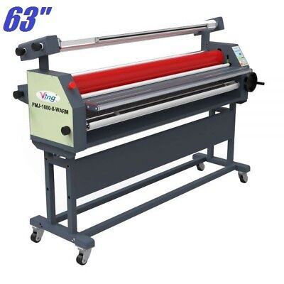 63 Full - Auto Wide Format Heat Assisted Cold Laminator Laminating Machine