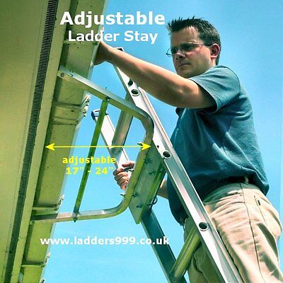 Ladder Stand Off  Ladder Stay  Adjustable Top Support - DIY & Trade use