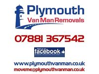 Plymouth Van Man Removals, Man And Van Hire