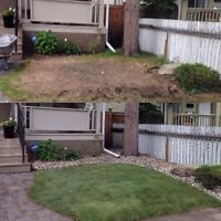 Landscape construction BIG or small