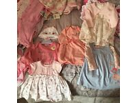 Newborn Baby Girls Clothes Bundle *Newborn, First Size & 0-3mths* Next, Mothercare & George
