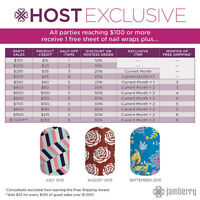 Host Your Jamberry Party- Get FREE Stuff!