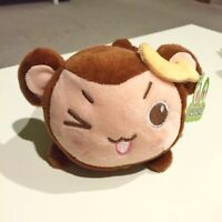 New* Fluffy monkey cell phone holder stand