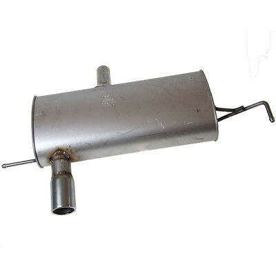 Rear Exhaust Box 100cm Replacement Audi TT 1.8T Quattro AJQ 99-01 Klarius AU440M