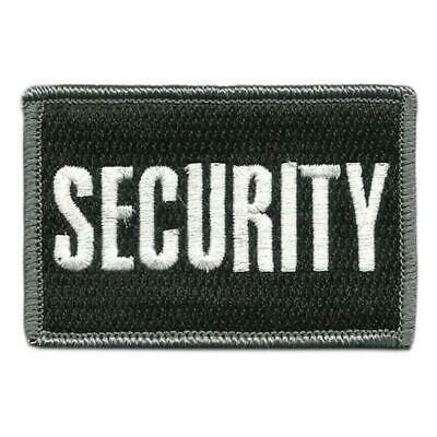 VELCRO® BRAND Hook Fastener Compatible Patch Security BLK WHT 3x2