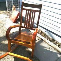 Selling the MOST BEAUTIFUL rocking chair in the world!