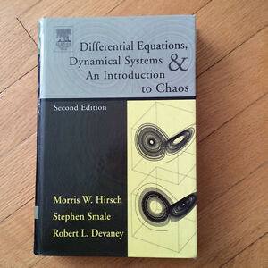 Differential Equations, Dynamical Systems & An Intro to Chaos Gatineau Ottawa / Gatineau Area image 1