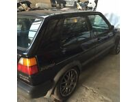 Golf Mk2 3 door and 5 door breaking all parts available can post at cost