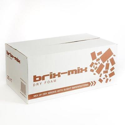 FLORIST DRY FOAM FOR DRIED FLOWERS BOX OF 20 BRICKS OASIS® BRIX-MIX 20-00012