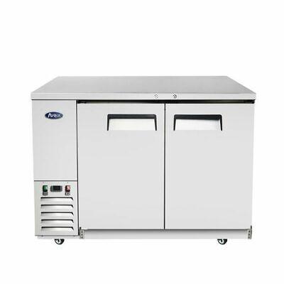 48 Shallow Depth Back Bar Cooler Refrigerator Bottles Cans 4 Foot Wide Nsf Cert