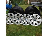 BMW wheels and winter tyres