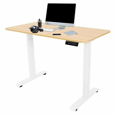 48 X 24 Inches Height Adjustable Electric Standing Desk For Home Office Study