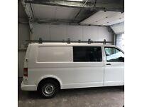 VW Transporter T5 roof rack