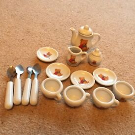 Toy miniature tea set