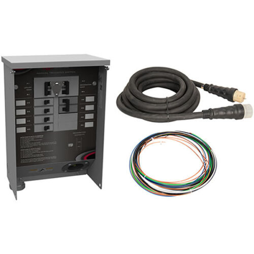 100 amp outdoor manual transfer switch
