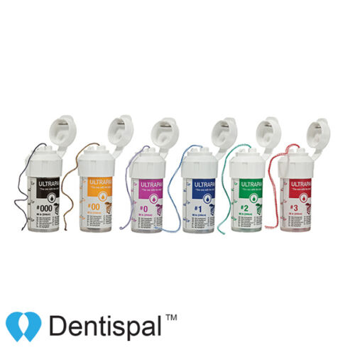 Ultradent Ultrapak Size #00 Gingival Retraction Cord 136