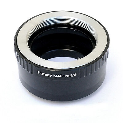 M42 42mm Screw Lens to Micro 4/3 m43 Adapter Olympus E-M1 E-M5 E-M10 E-PP2 E-PM1