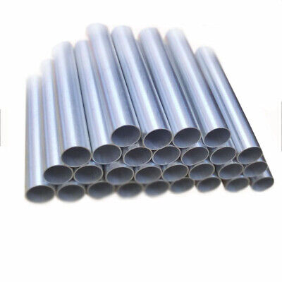 Aluminum Round Tube 20 Straight Al Pipe 2mm Od8-60mm Anode Electrode Us Ship