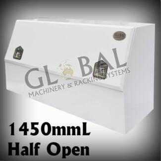 Ute toolboxes brisbane, ute tool box 1450x500x700 half lid box