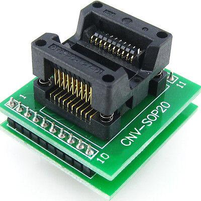Program Adapter Sop20so20soic20 To Dip20 Programmer Adapter Socket Converter