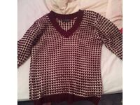 Size 12 knitted jumper
