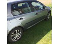 "Volkswagen golf FSI,petrol 2005"""