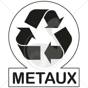 SERVICE GRATUIT RECYCLAGE DE METAUX FERAILLE
