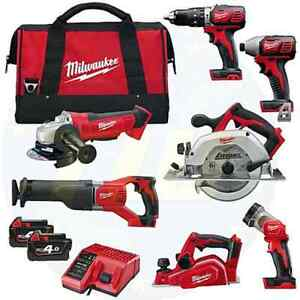 MILWAUKEE GENII M18 18V FUEL BRUSHLESS CORDLESS COMBO KIT Cabramatta West Fairfield Area Preview