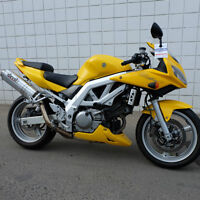 Great sport touring bike! Only $120.00 per month. Suzuki SV650S