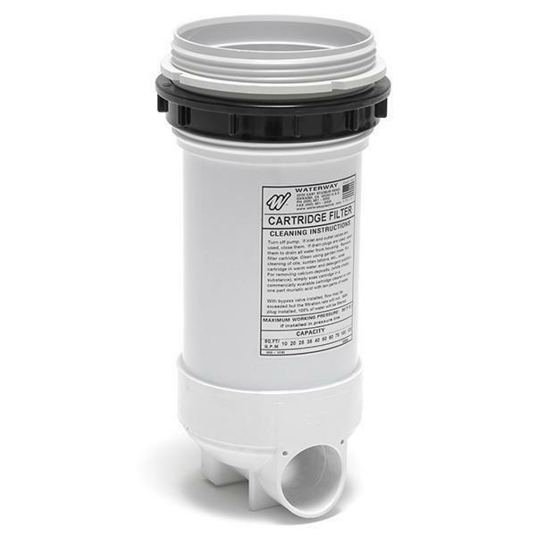 WATERWAY  Top Load Filter Body with 2in. Bypass