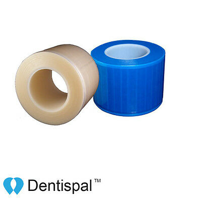 Dental Barrier Film Sticky Wrap Clear Or Blue 4 X 6 1200 Sheet