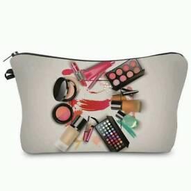 Clutch make up bag