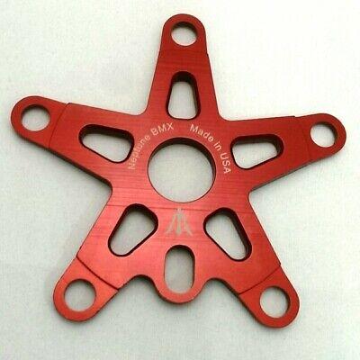 PURPLE NEPTUNE BMX Old school SPIDER 110mm Made in USA