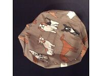NEW Dog pattern theatre/scrub hat veterinary