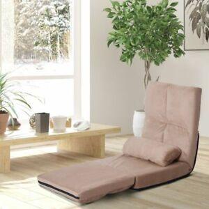 Sofa Canapé Lit Chaise 5 positions -Beige