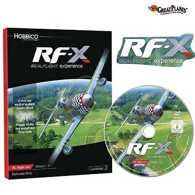 Great Planes GPMZ4548 RealFlight RF-X Flight Simulator Sim Software Windows