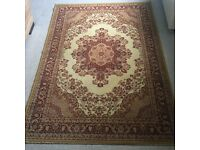 Large Antique French Rug