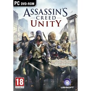 PC Gaming - PC DVD Online (Brand New) Assassin's Creed Unity
