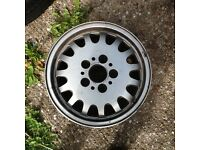 Genuine BMW alloy wheel and new tyre