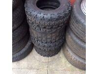 Quad tyres good condition