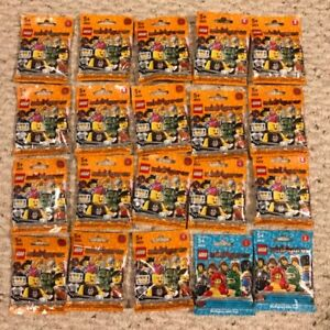 Lego mini figure series 4 and 5 unopened packs.