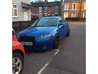 Audi A3 2.0 fsi 96k rs4 blue