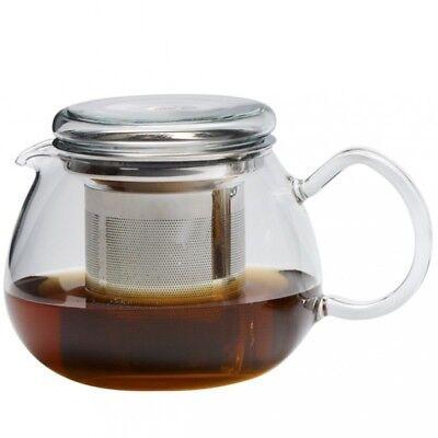 Teekanne Glaskanne PRETTY TEA 0,5l Edelstahlfilter Trendglas Jena